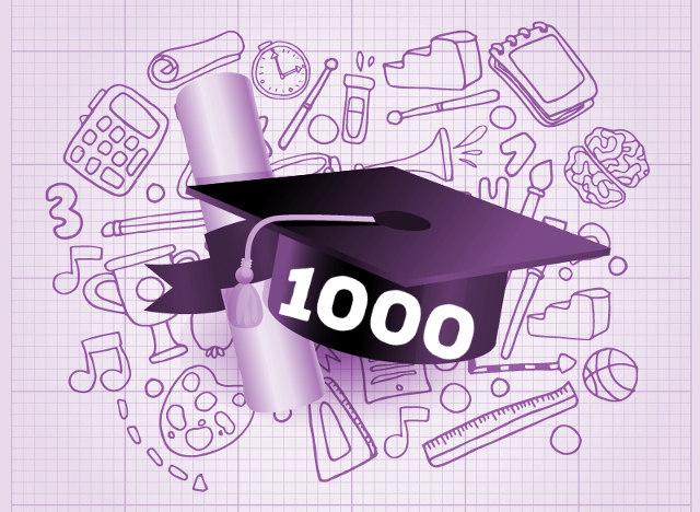 1000 badań