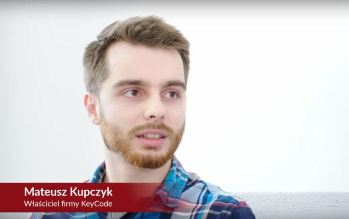 [Studium przypadku] Mateusz Kupczyk KeyCode